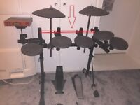 Yamaha dtxpress drums - missing some parts
