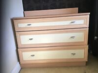 two matching Chest of drawers