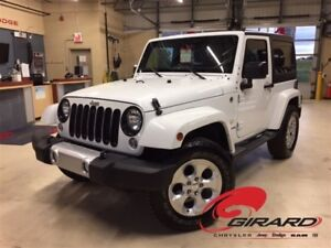 2015 Jeep Wrangler SAHARA*2 TOITS*BLUETOOTH*GPS*PLAN OR 5 ANS*
