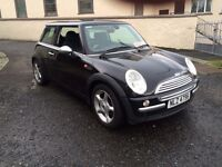 2004 MINI ONE 1.6 (ALLOYS AIR CON ELECTRIC PACK FRONT FOGS) FULL MOT