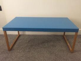 Habitat Blue metal coffee table