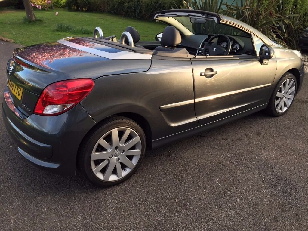 peugeot 207 cc 1 6 vti gt sport coupe cabriolet convertible sat nav full leather heated. Black Bedroom Furniture Sets. Home Design Ideas