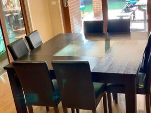 8 seater Dining table for sale at Point Cook