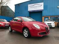 2011 ALFA ROMEO MITO 1.4 16v LUSSO # GENUINE LOW MILEAGE # LONG MOT # NEW SER...