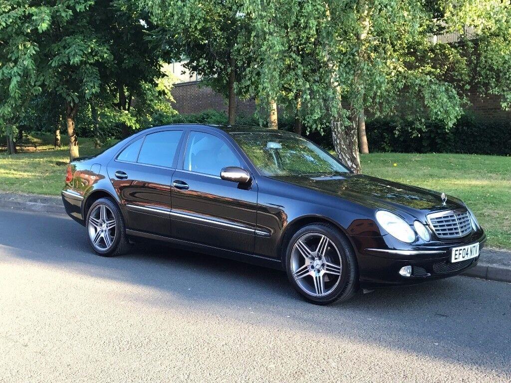 Black Mercedes-Benz E Class 2.7 E270 CDI Auto Elegance 4dr Saloon Diesel not E220 E320 - P/X welcome