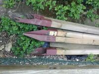Base rail spindles and metpost steel post