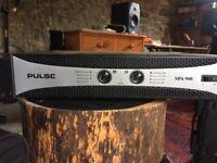 Pulse 900watt power amp