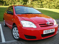 *** Toyota Corolla 1.4 VVT-i Colour Collection 3dr *** 12 MONTHS MOT*** FULL SERVICE HISTORY***