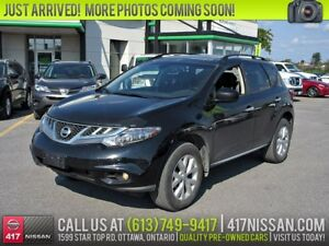 2014 Nissan Murano SL AWD | Pano Sunroof, Leather Htd Seats, Bos