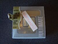 *** Brand New Polished Brass Light Switch 2 gang***