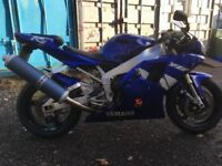Yamaha yzf r1 5jj blue