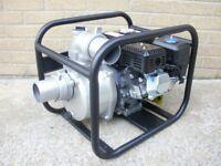 "Brand New 4-Stroke 75mm 3"" inch Petrol water pump. 196cc 6.5HP four"