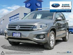 2013 Volkswagen Tiguan Comfortline 6sp at Tip Leather,Panaroof,B