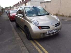 Nissan micra'automatic(2003)reg.full service history. Ideal 1st car.