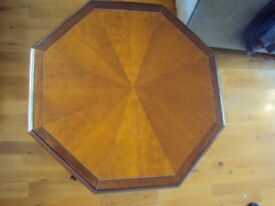 French polished side/lamp table