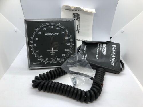 New Welch Allyn 5091-38 Wall Aneroid Sphygmomanometer w/ Cuff for Blood Pressure