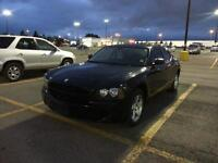 2008 Dodge Charger Black with tinted windows Sedan