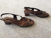 Ladies Pierre Cardin Sandals - Size 5