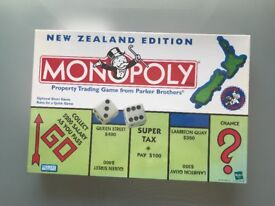 RARE NEW ZEALND MONOPOLY 2000 EDITION NEW AND SEALED