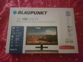 """Blaupunkt 24"""" HD Tv. Brand new in box"""