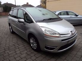2008 Citroen C4 Grand Picasso 2.0 HDi Exclusive Automatic Diesel MPV 7 Seater in Silver