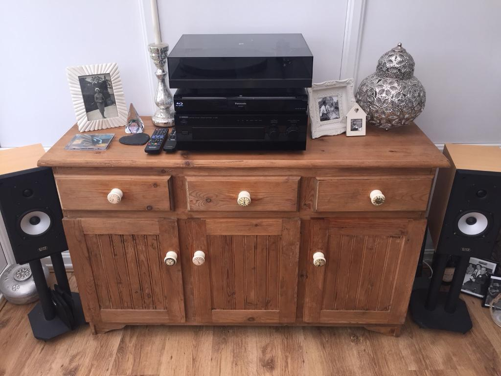 Shabby Chic Solid Wood Sideboard