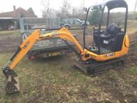 JCB 8014 Mini Digger Dumper Tractor No VAT