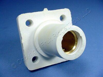 Leviton White 16 Series Cam Female Panel Receptacle 1.50 Plug 400a 16r24-14w