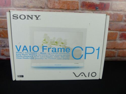 "Sony VAIO VGF-CP1 Digital Photo Frame 7"" Display Wi-Fi"