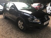 Volkswagen Golf 1.6 TDI BlueMotion Tech Match (s/s) 5dr FREE 1 YEAR WARRANTY, 1 OWNER, P/X WELCOME
