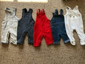 Dungarees 3-6 months