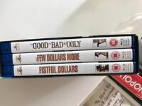 A fistful of dollars, Clint Eastwood box set blu ray