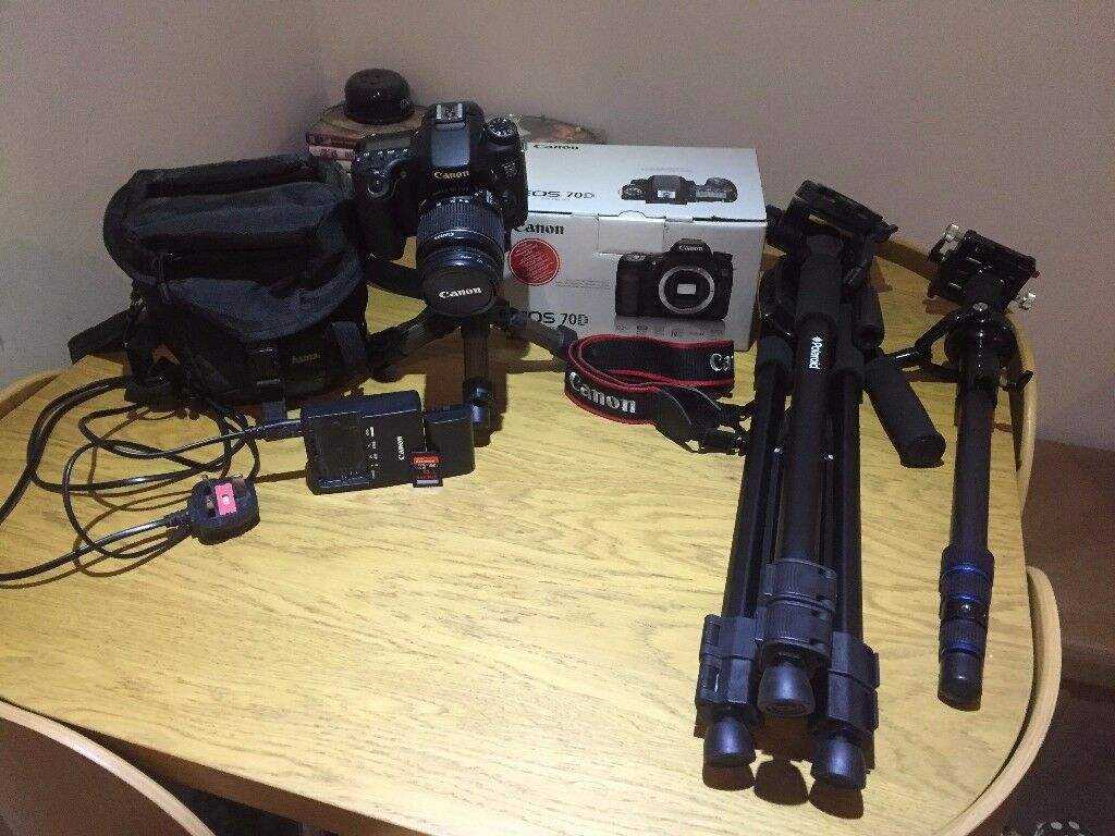 Canon 70D With Extras