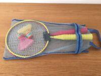 Junior badminton set
