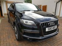 Audi Q7 3.0 TDI S line Plus Quattro 5dr; VERY HIGH SPEC