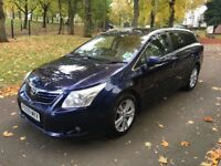 2009 (59) TOYOTA AVENSIS T4 D-4D ESTATE 2.0 DIESEL **FSH + LONG MOT + DRIVES VERY GOOD**