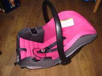 Car Seat large Nania Beone 0+ SP Plus in Sweet up to 13kg rearward facing