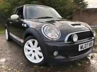 Mini Cooper S RARE AUTOMATIC ! Years Mot Low Mileage Drives Great SatNav DVD Player Triptronic !!!
