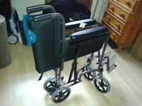 Wheelchair, folding lightweight