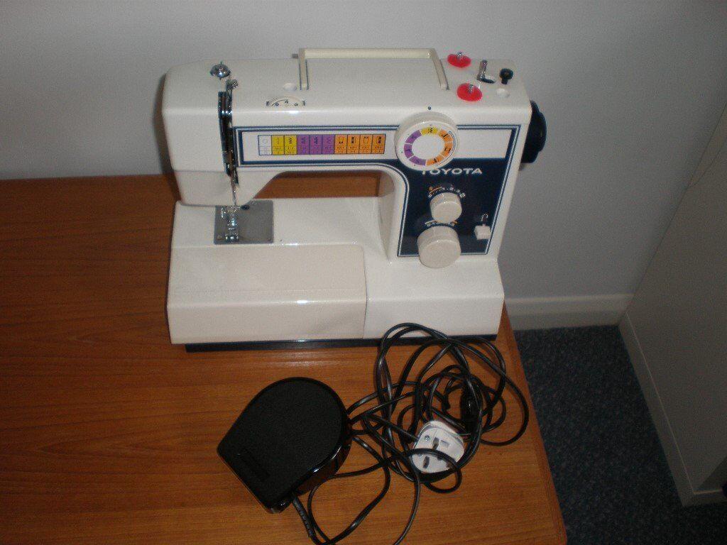 Toyota sewing machine model 2400