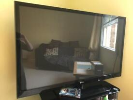 49 inch TV + stand
