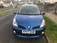 07 Renault Clio dynamic +,low miles, new mot, high spec. Great starter car or 'run about'