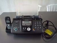 Panasonic Fax Answerphone Model: KX-FC235 – Great condition