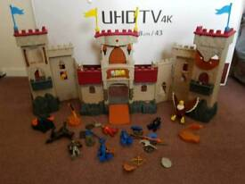 Imaginext castle and extras