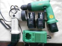 HITACHI 12V DRILL SET