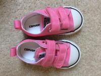 Children's Pink All Star Converse, size 5 infant