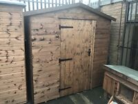 7 x 7 apex shed