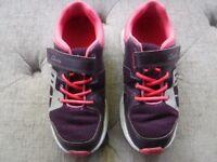 Girsl Clarks trainers - size 13F