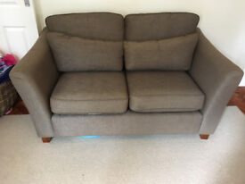 Sofa Grey/ Brown originally from M&S