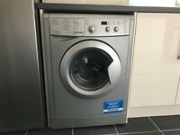 Indesit Washer Dryer - Silver